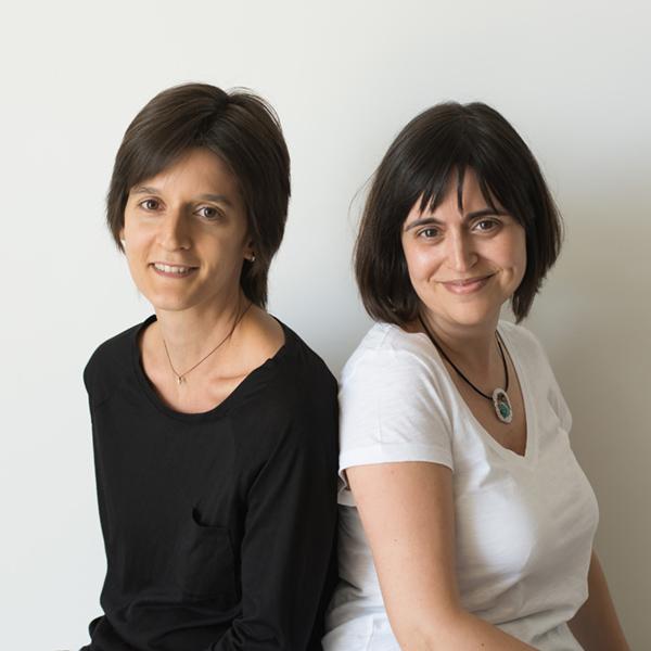 Victòria Peñafiel y Mireia Navarro