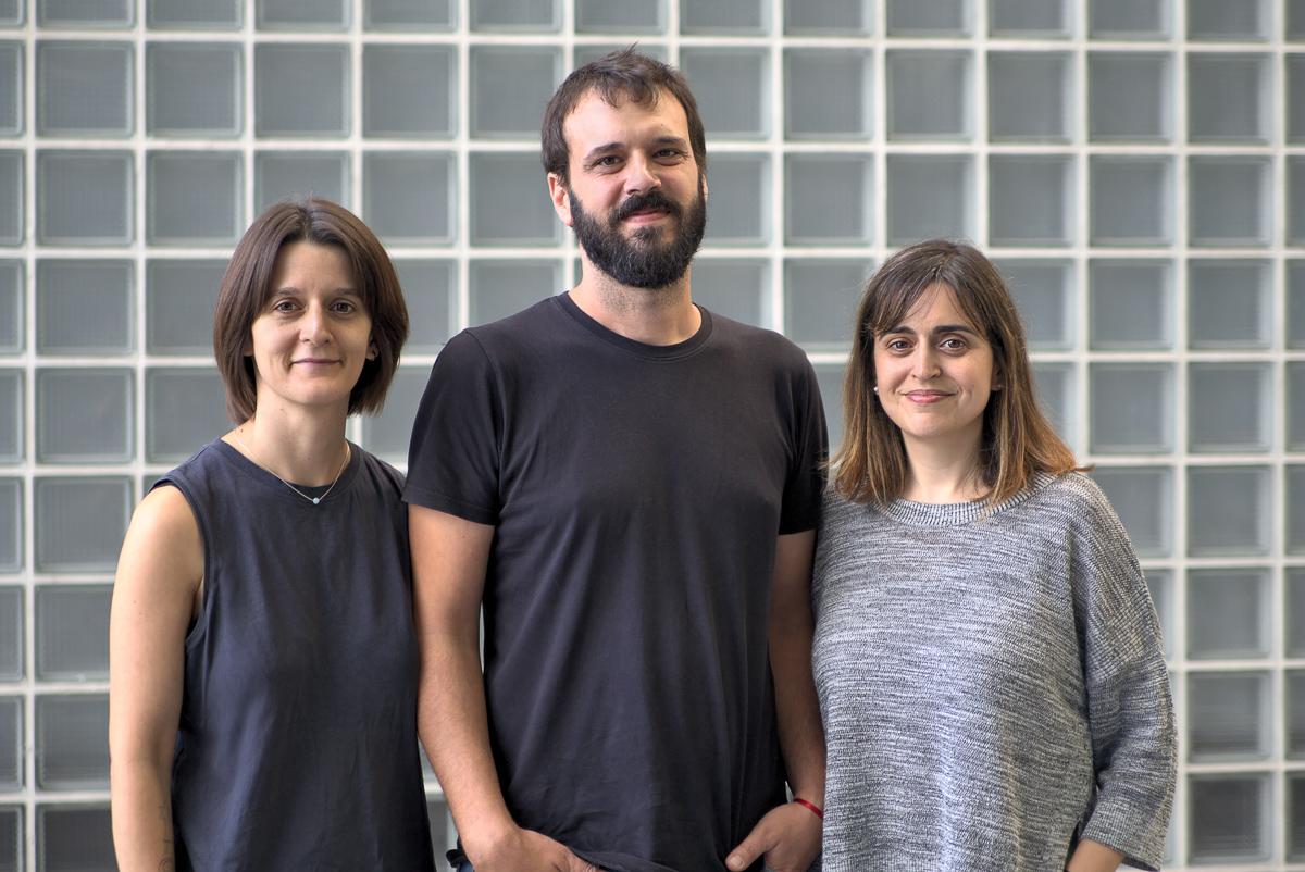 Victòria Peñafiel, Manu Mestre y Mireia Navarro